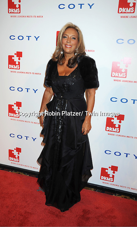 Denise Rich attending The DKMS 5th Annual Gala: Linked Against Leukemia honoring Rihanna and Michael Clinton on April 28, 2011 at Cipriani Wall Street in New York City.