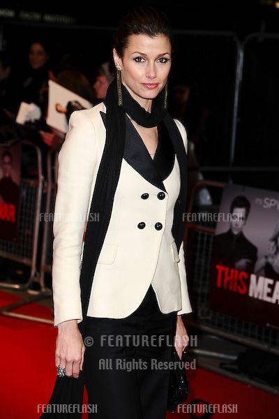 """Bridget Moynahan arriving for the UK premiere of """"This Means War"""" at the Odeon Kensington..January 30, 2012 London, UK.Picture: Steve Vas / Featureflash"""