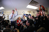 Mitt Romney makes a campaign stop at The Family Table restaurant in Atlantic, Iowa on Sunday, January 1, 2012.  (Christopher Gannon/GannonVisuals.com/MCT)