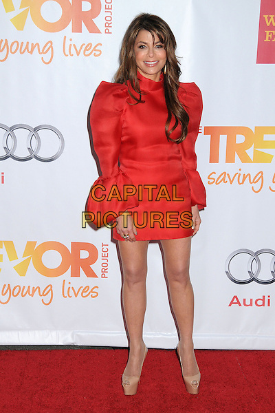 HOLLYWOOD, CA - DECEMBER 08: Paula Abdul at the TrevorLIVE Los Angeles Benefit celebrating The Trevor Project's 15th anniversary at the Hollywood Palladium on December 8, 2013 in Hollywood, California.<br /> CAP/ADM/BP<br /> &copy;Byron Purvis/AdMedia/Capital Pictures