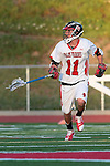 Redondo Beach, CA 05/11/10 - Zack Fixen (PV # 11) in action during the 2010 Los Angeles Boys Lacrosse championship game, Mira Costa defeated Palos Verdes 12-10 at Redondo Union High School.
