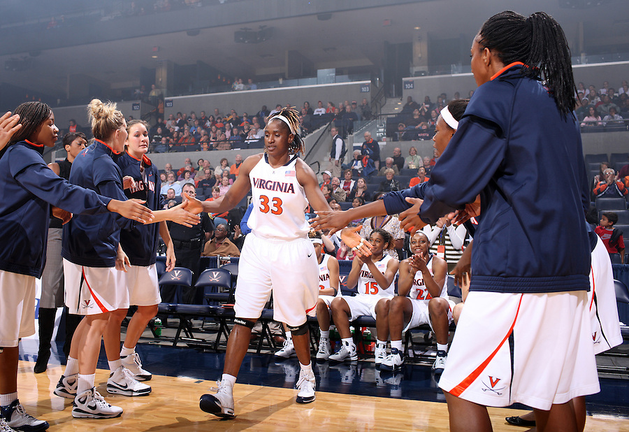 Virginia women's basketball player Aisha Mohammed