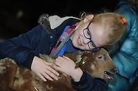 ALGEMEEN: TJALLEBERD: Schaapskooi Pastoriesingel, 01-03-2014, Lammetjesdag Wylde Weide, ©foto Martin de Jong