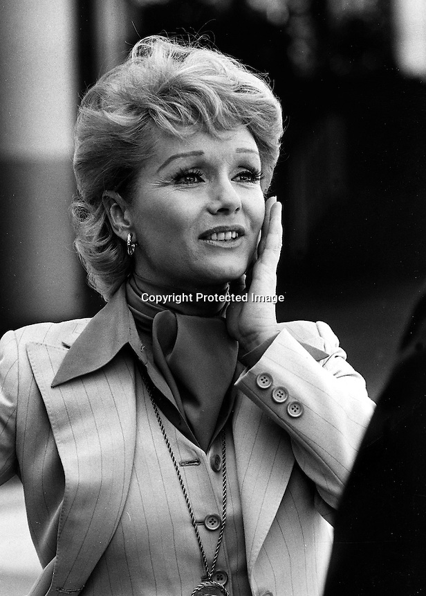 Actress Debbie Reynolds (1977 photo/Ron Riesterer)
