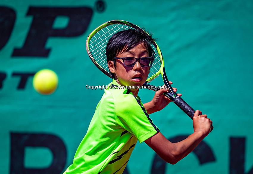Hilversum, Netherlands, Juli 29, 2019, Tulip Tennis center, National Junior Tennis Championships 12 and 14 years, NJK, Jessy Tan (NED)<br /> Photo: Tennisimages/Henk Koster
