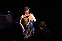 London, UK. 04.01.2014. Cirque du Soleil present QUIDAM at the Royal Albert Hall. Picture shows Toto Castineiras in Clown Cinema. © Jane Hobson.