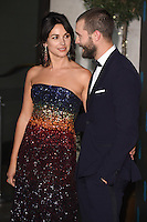 Amelia Warner and Jamie Dornan<br /> at the 2017 BAFTA Film Awards After-Party held at the Grosvenor House Hotel, London.<br /> <br /> <br /> &copy;Ash Knotek  D3226  12/02/2017