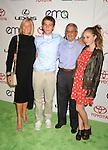 BURBANK, CA - SEPTEMBER 29: Ron Meyer and family arrive at the 2012 Environmental Media Awards at Warner Bros. Studios on September 29, 2012 in Burbank, California.