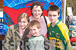 FAMILY: The Kelliher family from Fossa, Mary, Sean, Michael and Sheila were at the Kerry Homes & Garden Show in Tralee on Saturday..