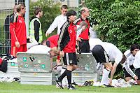 Bundestrainer Joachim Loew<br /> WM-Team des DFB trainiert in der Commerzbank Arena *** Local Caption *** Foto ist honorarpflichtig! zzgl. gesetzl. MwSt. Auf Anfrage in hoeherer Qualitaet/Aufloesung. Belegexemplar an: Marc Schueler, Alte Weinstrasse 1, 61352 Bad Homburg, Tel. +49 (0) 151 11 65 49 88, www.gameday-mediaservices.de. Email: marc.schueler@gameday-mediaservices.de, Bankverbindung: Volksbank Bergstrasse, Kto.: 151297, BLZ: 50960101