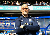 Preston North End's manager Alex Neil<br /> <br /> Photographer Andrew Kearns/CameraSport<br /> <br /> The EFL Sky Bet Championship - Queens Park Rangers v Preston North End - Loftus Road - London<br /> <br /> World Copyright &copy; 2018 CameraSport. All rights reserved. 43 Linden Ave. Countesthorpe. Leicester. England. LE8 5PG - Tel: +44 (0) 116 277 4147 - admin@camerasport.com - www.camerasport.com