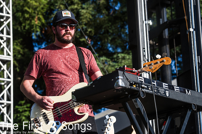 The Black Angels performs at the 2nd Annual BottleRock Napa Festival at Napa Valley Expo in Napa, California.