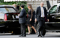 JUN 20 Trumps Depart for dinner with VP Pence and Mrs. Karen Pence