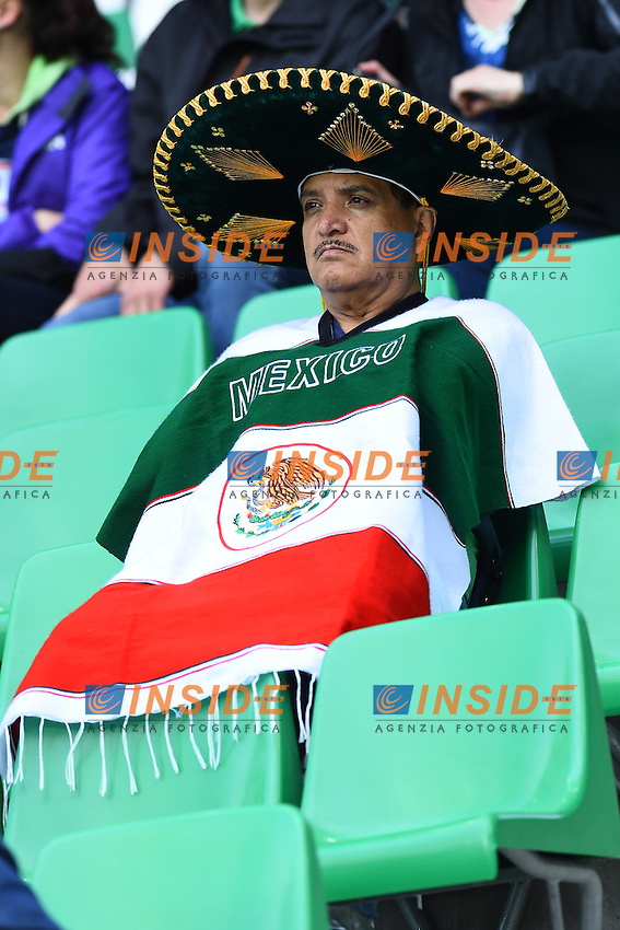 Tifosi Supporters Mexico<br /> Saint-Etienne 14-06-2016 Stadium Geoffroy-Guichard Football Euro2016 Portugal-Iceland / Portogallo-Islanda Group Stage Group F<br /> Foto Massimo Insabato / Insidefoto