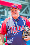 8 June 2013: Minnesota Twins Manager Ron Gardenhire prepares for batting practice prior to a game against the Washington Nationals at Nationals Park in Washington, DC. The Twins edged out the Nationals 4-3 in 11 innings. Mandatory Credit: Ed Wolfstein Photo *** RAW (NEF) Image File Available ***