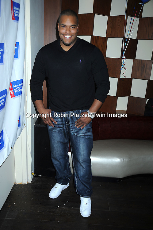 Sean Ringgold attending the 7th Annual Daytime Stars and Strikes Bowling Event on October 10, 2010 at Leisure Time Bowling Facility in New York City. The event benefited The American Cancer Society.