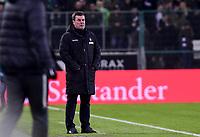 Football : Germany -1. Bundesliga  2017/18 <br /> Borussia Moenchengladbach vs RB Leipzig <br /> 03/02/2018 - Dieter Hecking (Borussia Moenchengladbach-trainer) *** Local Caption *** © pixathlon<br /> Contact: +49-40-22 63 02 60 , info@pixathlon.de