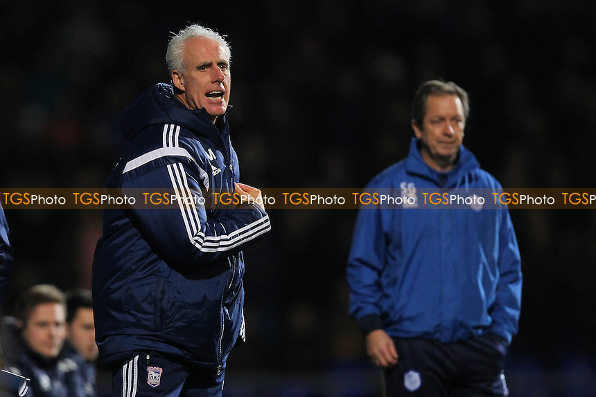 Ipswich Town manager Mick McCarthy - Ipswich Town vs Sheffield Wednesday - Sky Bet Championship Football at Portman Road, Ipswich, Suffolk  - 10/02/15 - MANDATORY CREDIT: Gavin Ellis/TGSPHOTO - Self billing applies where appropriate - contact@tgsphoto.co.uk - NO UNPAID USE