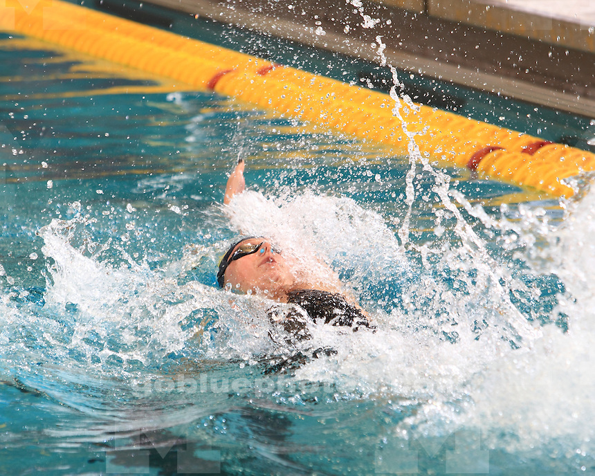 The University of Michigan women's swimming and diving team finished day 3 in sixth place at the Big Ten Championships at the University of Minnesota Aquatic Center in Minneapolis, Minn., on February 22, 2013.