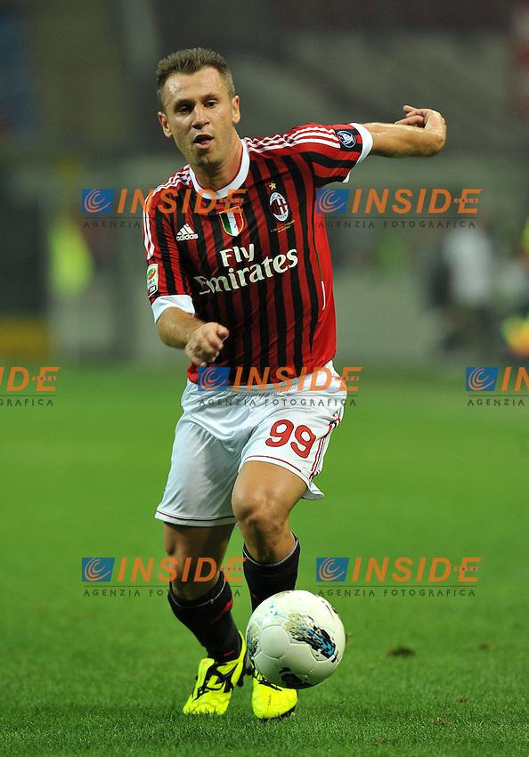 "Antonio CASSANO (Milan).Milano 24/9/2011 Stadio ""Giuseppe Meazza"".Serie A 2011/2012.Football Calcio Milan Vs Cesena.Foto Insidefoto Alessandro Sabattini."