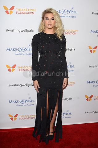 LOS ANGELES, CA - DECEMBER 07: Tori Kelly at the 4th Annual Wishing Well Winter Gala on December 07, 2016 in Los Angeles, California. Credit: David Edwards/MediaPunch