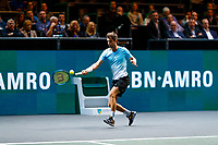 Rotterdam, The Netherlands, 9 Februari 2020, ABNAMRO World Tennis Tournament, Ahoy, Stefanos Tsitsipas (GRE), Aljaz Bedene (SLO).<br /> Photo: www.tennisimages.com