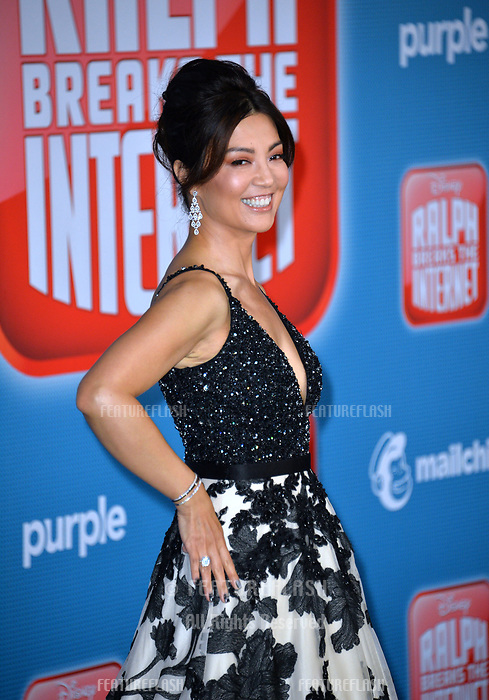 """LOS ANGELES, CA. November 05, 2018: Ming-Na Wen at the world premiere of """"Ralph Breaks The Internet"""" at the El Capitan Theatre.<br /> Picture: Paul Smith/Featureflash"""