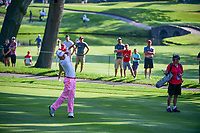 Justin Thomas (USA) on the 3rd during the first round of the WGC Bridgestone Invitational, Firestone country club, Akron, Ohio, USA. 03/08/2017.<br /> Picture Ken Murray / Golffile.ie<br /> <br /> All photo usage must carry mandatory copyright credit (&copy; Golffile | Ken Murray)