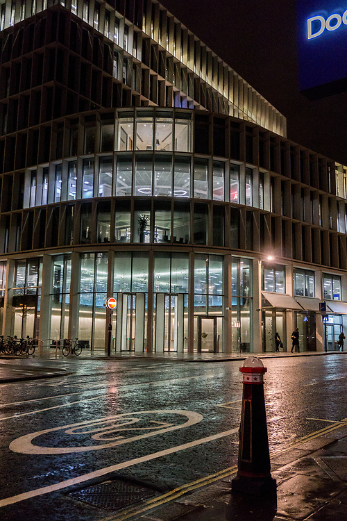 Modern office building in London England