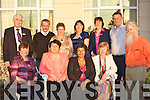 Forbairt na Dromoda members who were honoured at the Kerry Community Awards in the Dromhall Hotel, Killarney on Thursday evening front row l-r: Una Sheehan, Eileen O'Sullivan, Jane Collins, Mary O'Sullivan. Back row: Brendan Doran, Paul, Susan Turner, Ca?it Ui? Chonnaill, Ros Quinlan, Michea?l O'Se? and Brian O'Riordan.