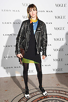Edie Campbell<br /> at the Vogue 100: A Century of Style exhibition opening held in the National Portrait Gallery, London.<br /> <br /> <br /> ©Ash Knotek  D3080 09/02/2016