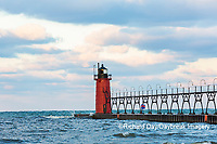 64795-02504 South Haven Lighthouse early morning South Haven,  MI