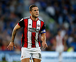 Billy Sharp of Sheffield Utd during the Championship match at the Cardiff City Stadium, Cardiff. Picture date: August 15th 2017. Picture credit should read: Simon Bellis/Sportimage