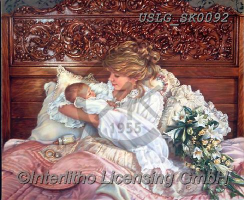 CHILDREN, KINDER, NIÑOS, paintings+++++,USLGSK0092,#K#, EVERYDAY ,Sandra Kock, victorian