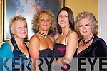 Jackie Kearney Milltown, Yvonne O'Reilly Glenbeigh, Siobhain O'Connor Killorglin and Ann Connelly Castlemaine Glasgow enjoying the Fexco social in the Dromhall Hotel on Saturday night     Copyright Kerry's Eye 2008