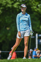 Jessica Korda (USA) watches her tee shot on 15 during round 2 of the 2018 KPMG Women's PGA Championship, Kemper Lakes Golf Club, at Kildeer, Illinois, USA. 6/29/2018.<br /> Picture: Golffile | Ken Murray<br /> <br /> All photo usage must carry mandatory copyright credit (© Golffile | Ken Murray)