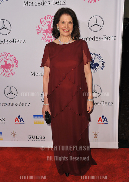 Sherry Lansing at the 26th Carousel of Hope Gala at the Beverly Hilton Hotel..October 20, 2012  Beverly Hills, CA.Picture: Paul Smith / Featureflash