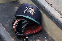 New Orleans hat 6034.jpg.  PCL baseball featuring the New Orleans Zephyrs at Round Rock Express  at Dell Diamond on June 19th 2009 in Round Rock, Texas. Photo by Andrew Woolley.