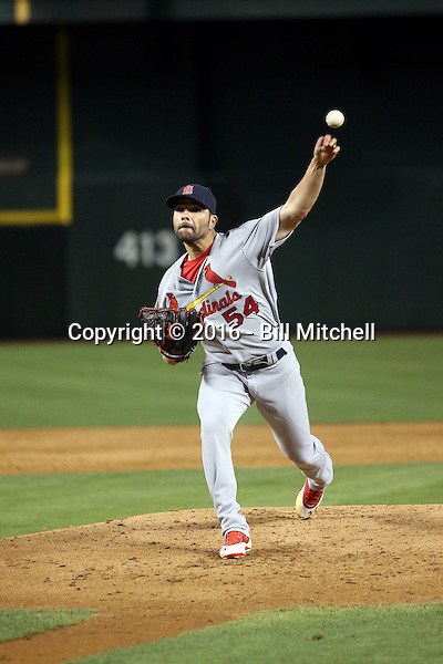 Jaime Garcia - 2016 St. Louis Cardinals (Bill Mitchell)
