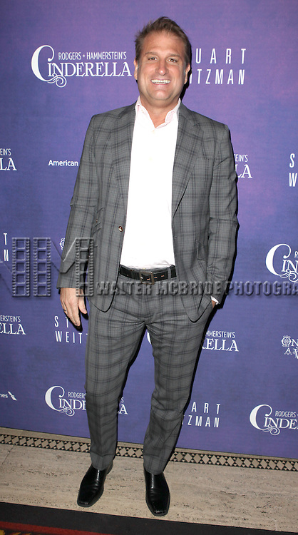 Jeff Calhoun attending The Broadway Opening Night After Party for  'Rogers + Hammerstein' s Cinderella' at Gotham Hall in New York City on 3/3/2013