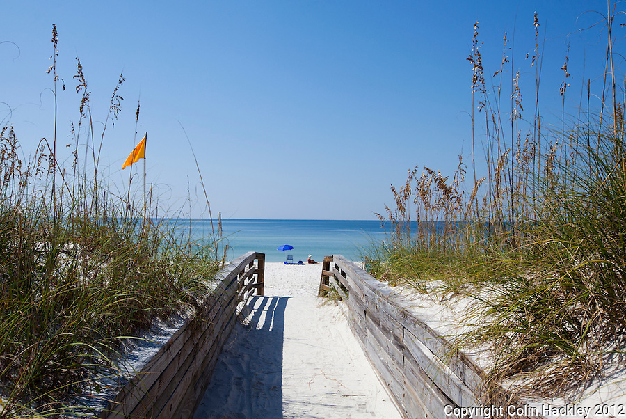 The beaches of St. Joseph Peninsula State Park offer uncrowded white sand views..COLIN HACKLEY PHOTO