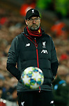 Jurgen Klopp manager of Liverpool during the UEFA Champions League match at Anfield, Liverpool. Picture date: 27th November 2019. Picture credit should read: Andrew Yates/Sportimage