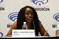 Janeshia Adams-Ginyard Wondercon in Anaheim Ca. March 31, 2019