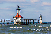 64795-02720 St. Joseph North Pier Lighthouses St. Joseph, MI