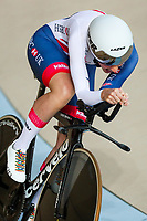 Picture by Alex Whitehead/SWpix.com - 24/03/2018 - Cycling - 2018 UCI Para-Cycling Track World Championships - Rio de Janeiro Municipal Velodrome, Barra da Tijuca, Brazil - Crystal Lane-Wright of Great Britain competes in the Women's C5 Individual Pursuit qualifying.