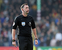 Referee Christopher Kavanagh<br /> <br /> Photographer Rich Linley/CameraSport<br /> <br /> The Premier League - Burnley v Wolverhampton Wanderers - Saturday 30th March 2019 - Turf Moor - Burnley<br /> <br /> World Copyright © 2019 CameraSport. All rights reserved. 43 Linden Ave. Countesthorpe. Leicester. England. LE8 5PG - Tel: +44 (0) 116 277 4147 - admin@camerasport.com - www.camerasport.com