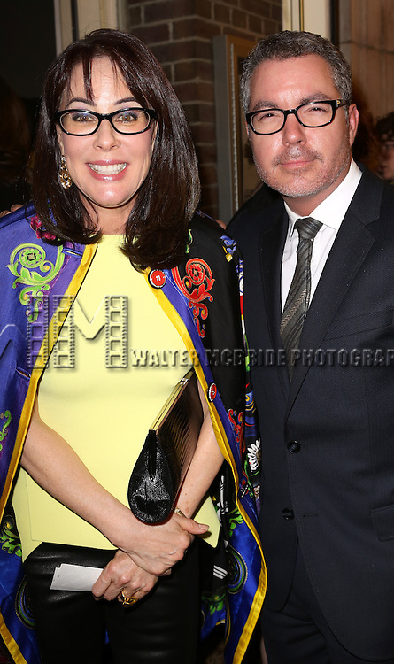Darren Bagert & Guest attending the 2013 Drama Desk Awards at Town Hall in New York City on May 19, 2013.