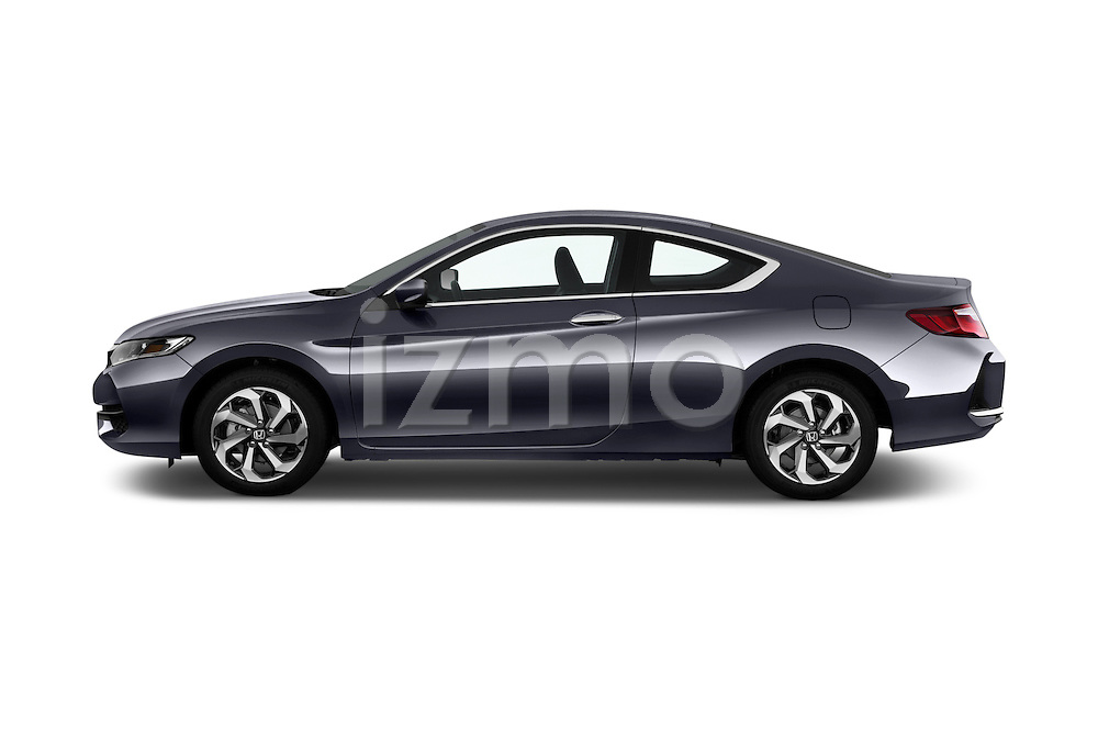 Car Driver side profile view of a 2016 Honda Accord LX-S 2 Door Coupe Side View