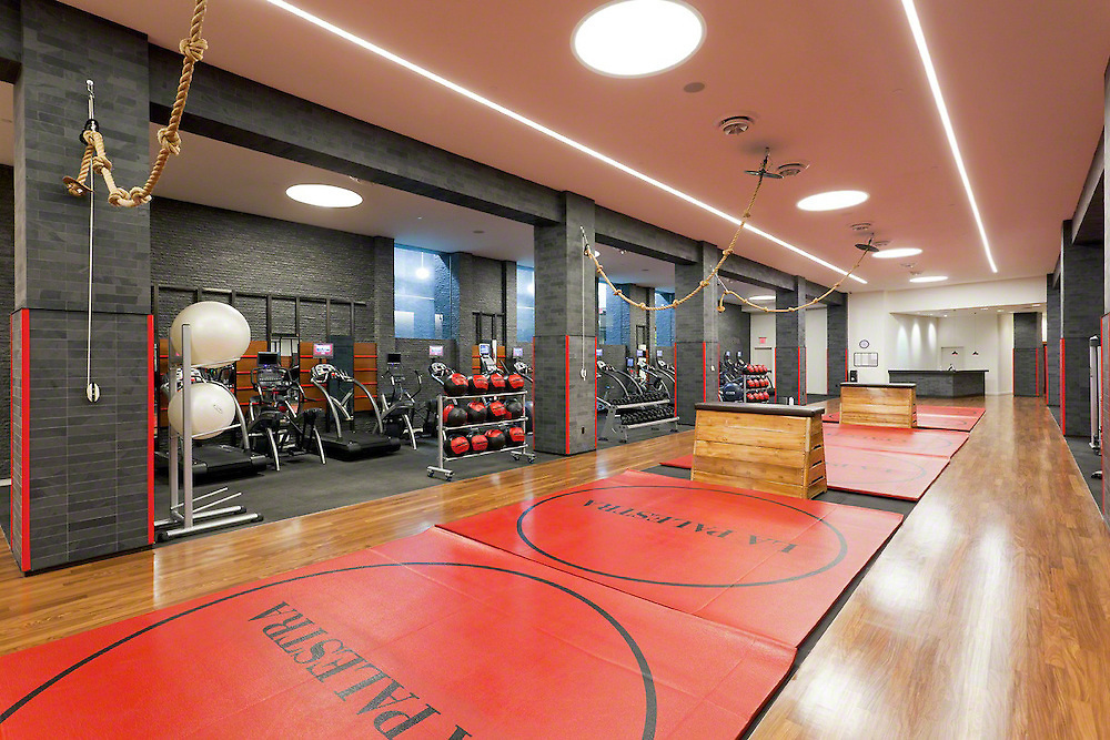 Wresting Sports Exercise Room