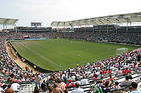 The Home Depot Center during the LA Galaxy vs Chivas USA Major League Soccer match. LA Galaxy played the Chivas USA to a 1-1 draw at the Home Depot Center in Carson, California, May 20, 2007.